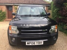 Land Rover Discovery 3 2.7 TDV6 XS - Black with Cream Leather - 7 Seats - Fantastic Drive - FSH