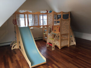 CedarWorks Indoor Playset