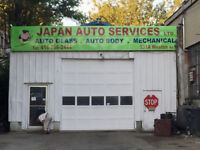FOR  RENT Automotive Repair Shop Garage  lots of parking