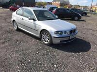 BMW 316 1.8 ti ES Compact 3 DOOR - 2004 54-REG - FULL 12 MONTHS MOT