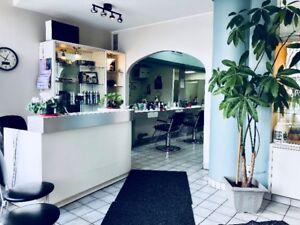 Beauty Salon for Sale/Salon de Coiffure à Vendre