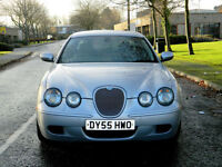 2005 55 Jaguar S-Type 4.2 V8 R 4dr WITH FSH+400BHP+SATNAV+ALPINE AUDIO
