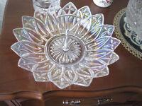 Vintage Federal Petal CARNIVAL GLASS Bowl