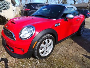 2012 MINI COOPER S COUPE, MANUAL