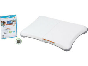Wii Fit and Wii Fit U with meter and balance board