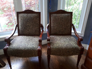 2 Bombay chairs for $150