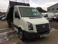 Volkswagen crafter cr35 2.5tdi tipper, Great looking truck!