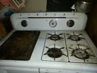 Findlay gas/wood/electric stove