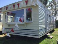 Cheap static caravan** double glazed & centrally heated ** clacton Essex