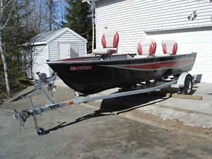 Full package Boat, Motor and Trailer