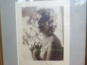 Mary Pickford original Signed Print by SPURR