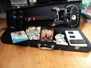 PS2 slim with  ,Guitar hero 3,Family game night, Singstar Pop