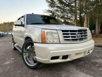 FRESH IMPORT 2007 CADILLAC ESCALADE 6.0 V8 AUTO FOUR WHEEL DRIVE SUV PEARL WHITE