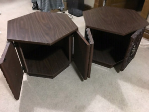 Side tables for $15.00/each or $25.00 both.