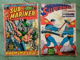 Superman, Submariner Marvel comics