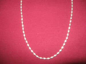 """Sterling silver necklace, 24"""" London Ontario image 2"""