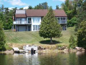 Executive Custom WATERFRONT Home on 1.1+acres  $615,000