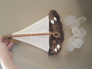 NIB Handmade Sailboat Chime