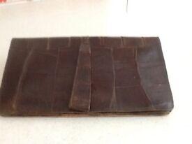 Handbag 1930's crocodile skin.