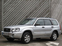 2005/55 SUBARU FORESTER 2.0 X ALL WEATHER ESTATE - FULL HISTORY
