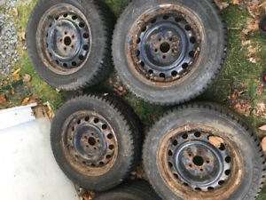 205/60 R 15 General Winter Tires  *TIRES ARE LIKE NEW