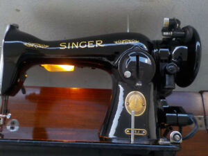 15-91 Singer Sewing ABSOLUTELY ALL ORIGINAL AND COMPLETE