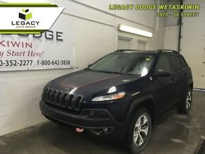 2014 Jeep Cherokee Trailhawk 4x4 Heated Leather