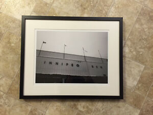 Winnipeg Jets Winnipeg Arena Photograph Framed