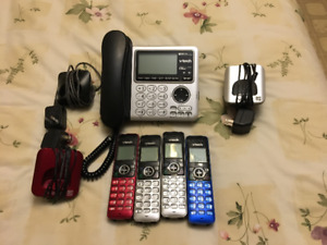 V-TECH CORDLESS PHONE SYSTEM FOR SALE