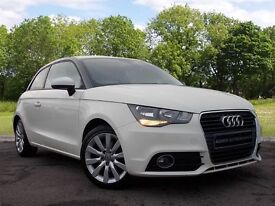 Audi A1 1.6 TDI Sport 3dr (white) 2011