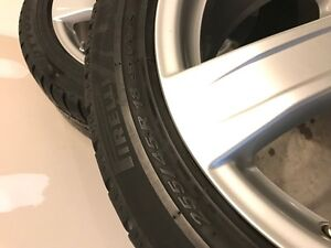 Winter tires for Mercedes S class-Condidtion As new London Ontario image 3