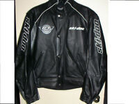 Ski-DOO Bombardier Leather Jacket $$ Great Deal $$
