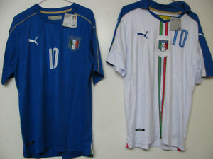 Italy Soccer Uniform Verratti Jersey and Shorts /nwt/L