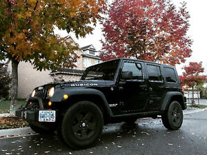 2008 Jeep Wrangler Rubicon Unlimited manual SUV, Crossover