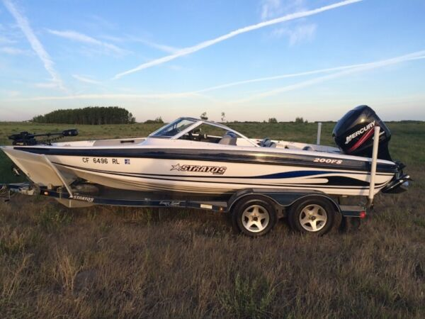 Used 2005 Stratos Boat Co 200f/s