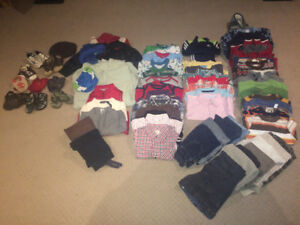 Boys Clothes: 12-18 month olds (71 items)