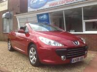 2008 08 Peugeot 307 CC 2.0 16v COUPE CONVERTIBLE FINANCE AVAILABLE