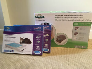 PetSafe ScoopFree Ultra Self Cleaning Litter Box & Litter Trays