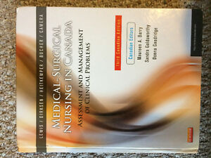 Medical -Surgical Nursing in Canada third Canadian edition