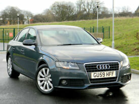 2009 59 Audi A4 2.0TDI ( 143PS ) SE WITH F/S/H+CRUISE+6CD+AUX+