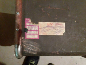 Large Vintage travel chest London Ontario image 3