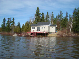 cottage water front land