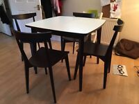 Habitat Extendable Dining Table Set with 4 Chairs