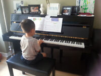 In your home piano lessons Guelph
