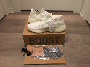 Yeezy Boost 350 Creme Size 10 replica NEW