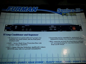 Furman PS-8R II POWER CONDITIONER/SEQUENCER Cambridge Kitchener Area image 3