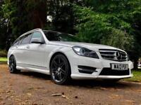 2013 Mercedes Benz C Class C250 CDI BlueEFFICIENCY AMG Sport Plus 5dr Auto wi...
