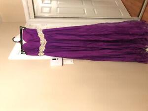 Purple Prom Dress