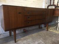 Vintage retro beautility sideboard