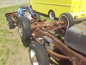 88 ford f250 good 7.3 idi 4x4 rolling chassis, no transfer case